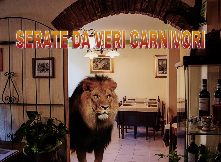 Serate da veri Carnivori